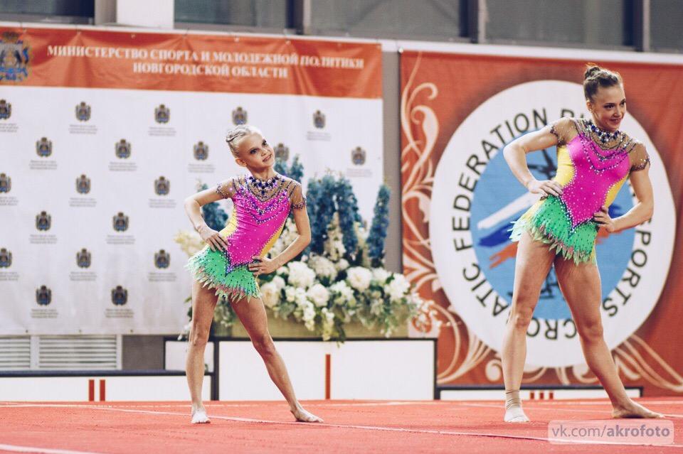 Кировские акробаты выиграли первенство страны