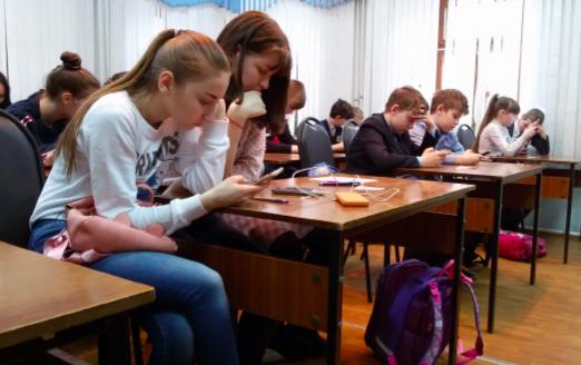 Кировские школьники написали первый межрегиональный кибердиктант