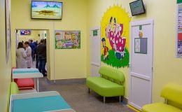 Нескучный медосмотр. Детскую поликлинику на улице Монтажников обновили