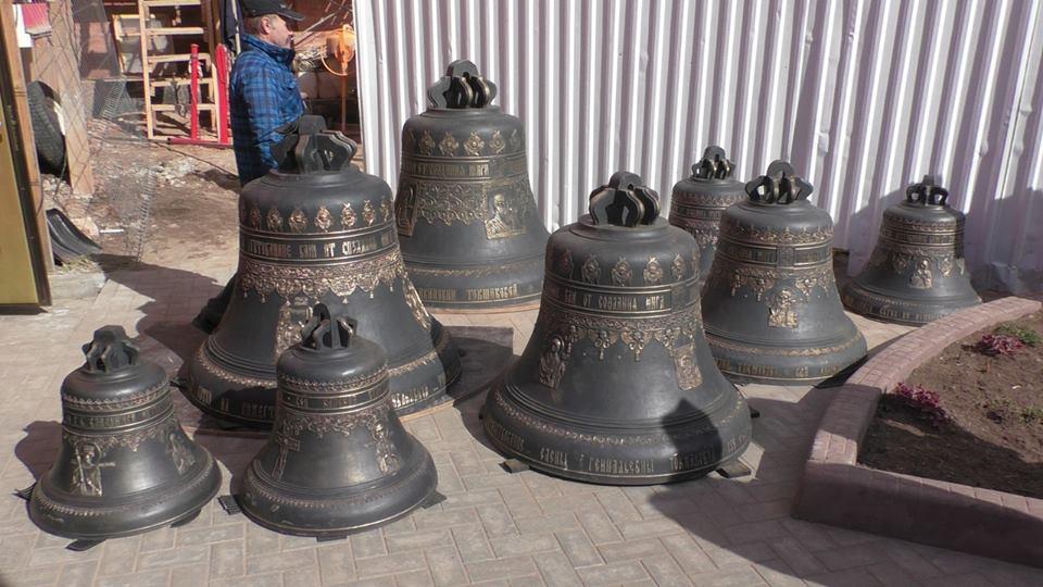 На колокольне Спасского собора зазвучат новые колокола
