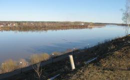 Уровень воды в Вятке достиг +118 см от нулевого поста. Много это или мало?