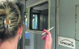 Покурила в поезде, а сядет за взятку?