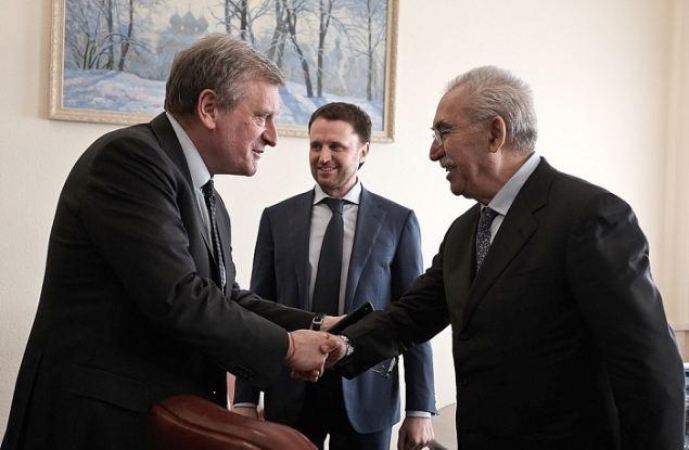 Губернатор Игорь Васильев встретился с известным итальянским журналистом