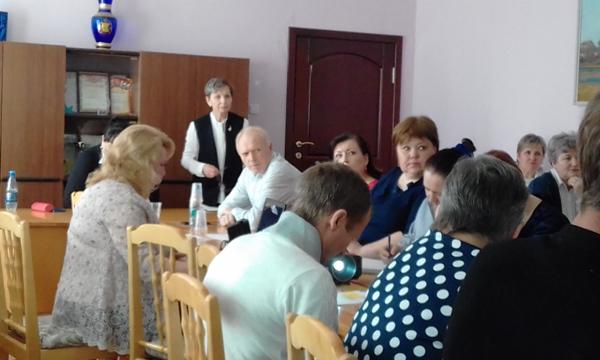 Юрий Терешков рассказал сельским депутатам об упрощении системы декларирования доходов