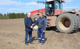 В Кировской области начались весенне-полевые работы