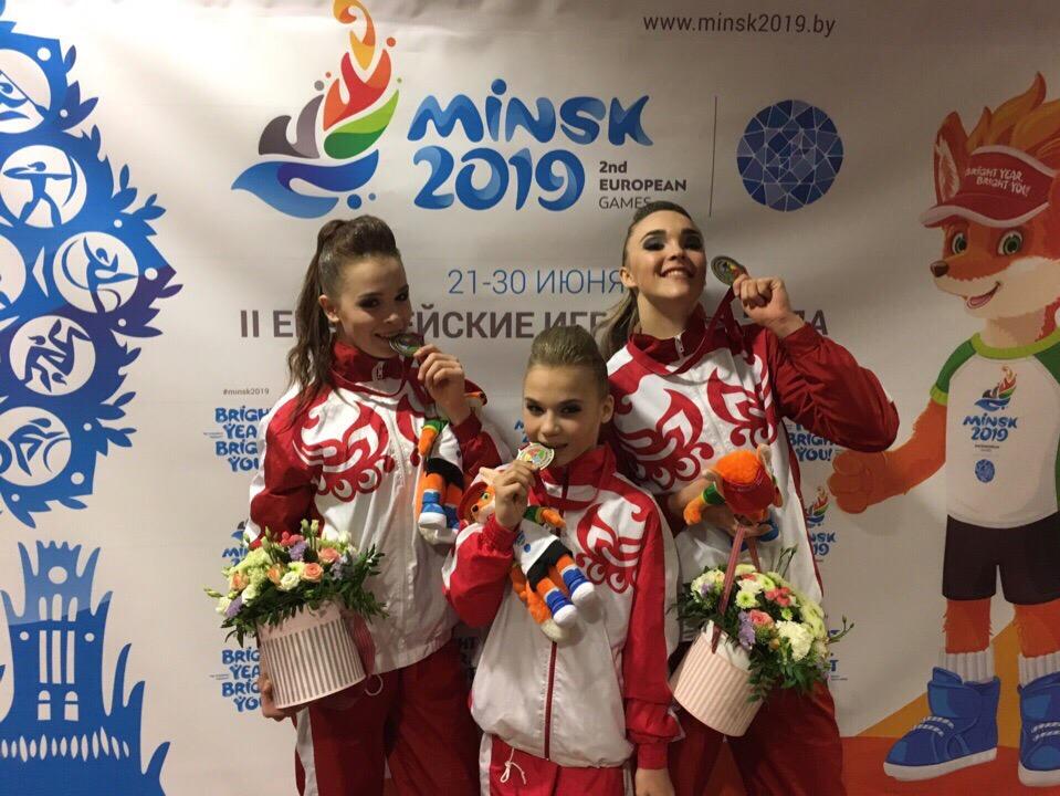 Кировские спортсменки штурмуют Европейские игры
