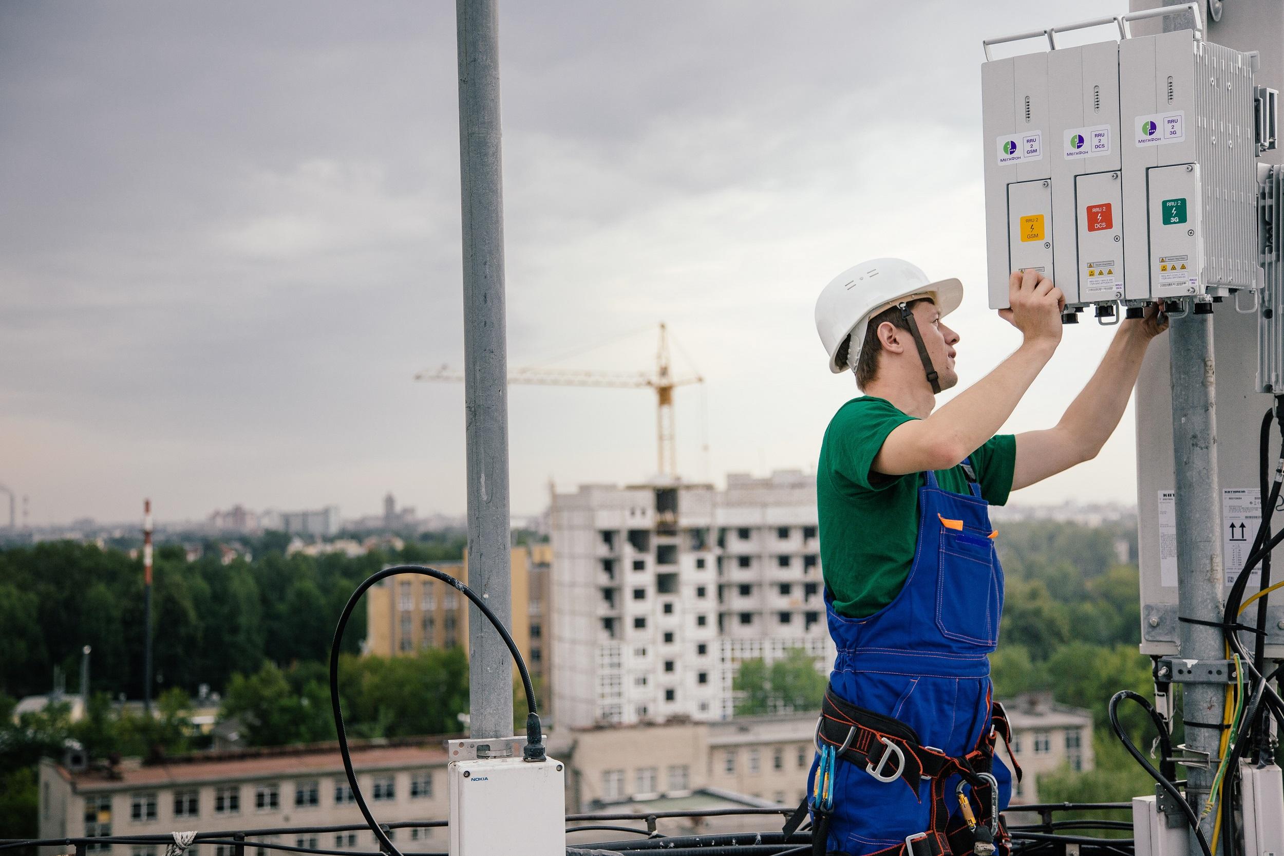 МегаФон признан лидером по числу 4G базовых станций