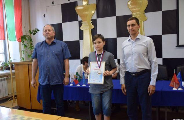 Кировчанин завоевал серебро этапа детского Кубка России по шахматам