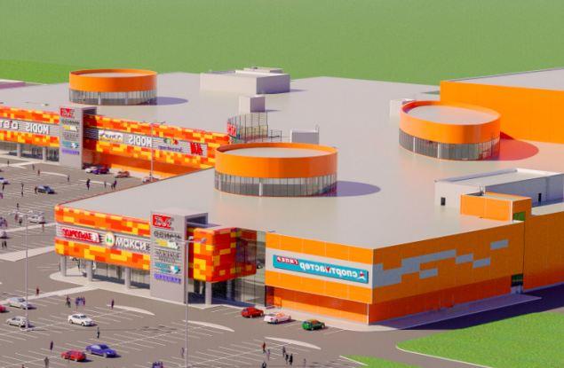 Стены самого большого ТРЦ Кирова возведут уже в этом году