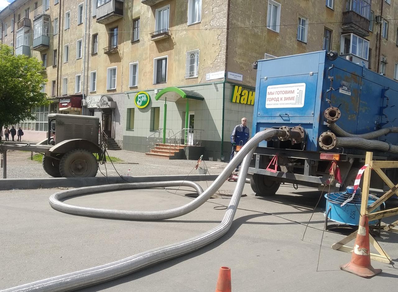 Гидравлические испытания в Кирове подходят к экватору