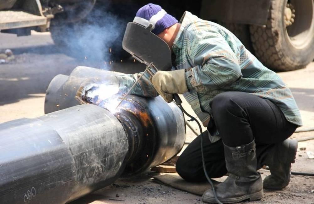 КТК проводит реконструкцию тепломагистрали по улице Свободы