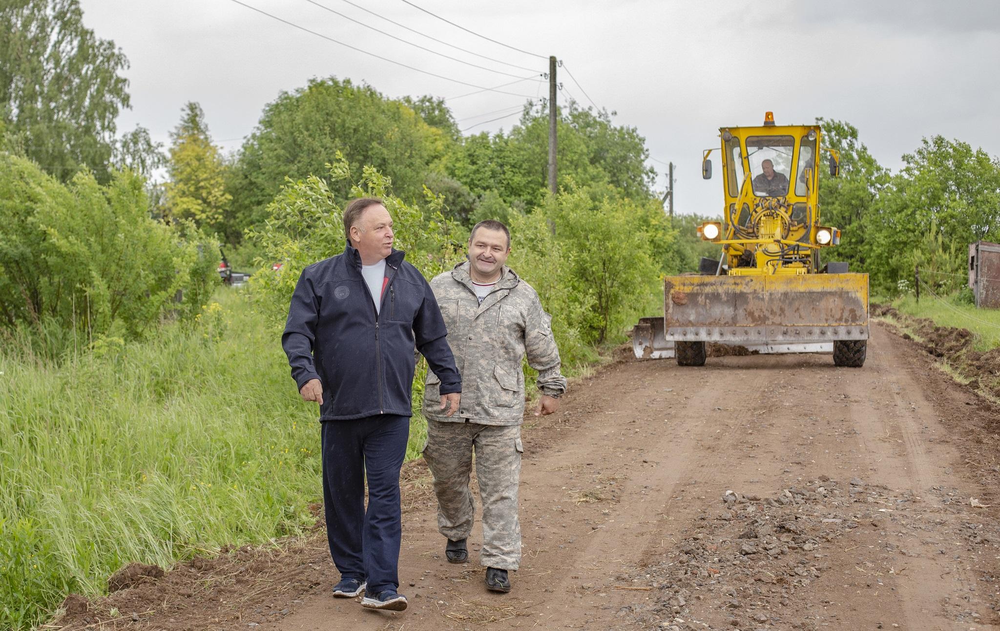 Союз садоводов России начал грейдирование вдоль Победиловского тракта