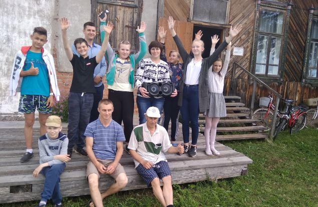 Сторонники «Родины» в Шабалинском районе помогли сельскому ДК