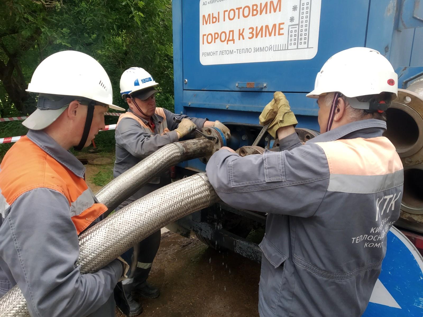 В Кирово-Чепецке пройдут повторные гидравлические испытания