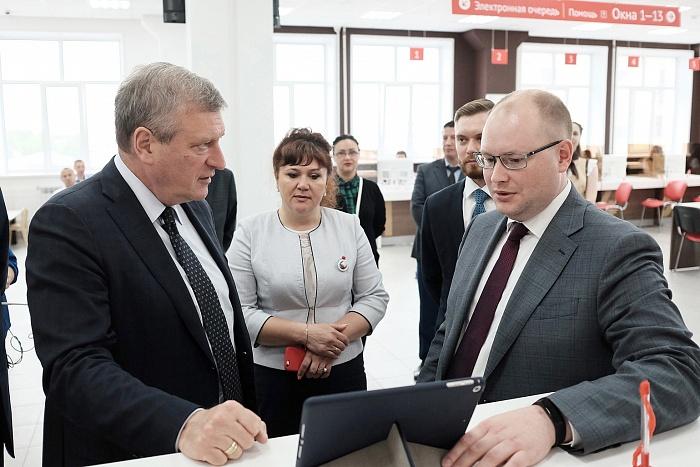 Новый МФЦ в Кирове через видеонаблюдение следит за временем ожидания вызова
