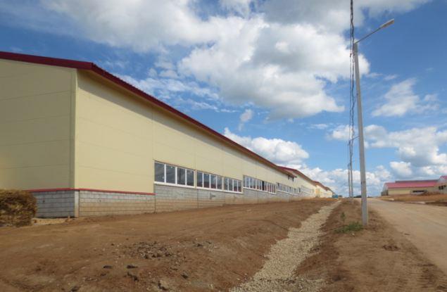В Кировской области возвели крупнейшую в ПФО ферму