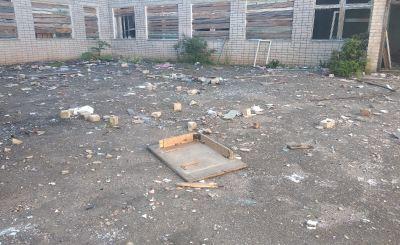 Опасные отходы хранятся в доступном для детей месте