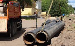 В Кирово-Чепецке ведется реконструкция магистральной теплотрассы