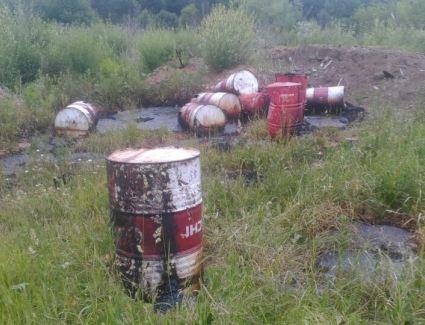 В Кирово-Чепецком районе обнаружили токсичную свалку