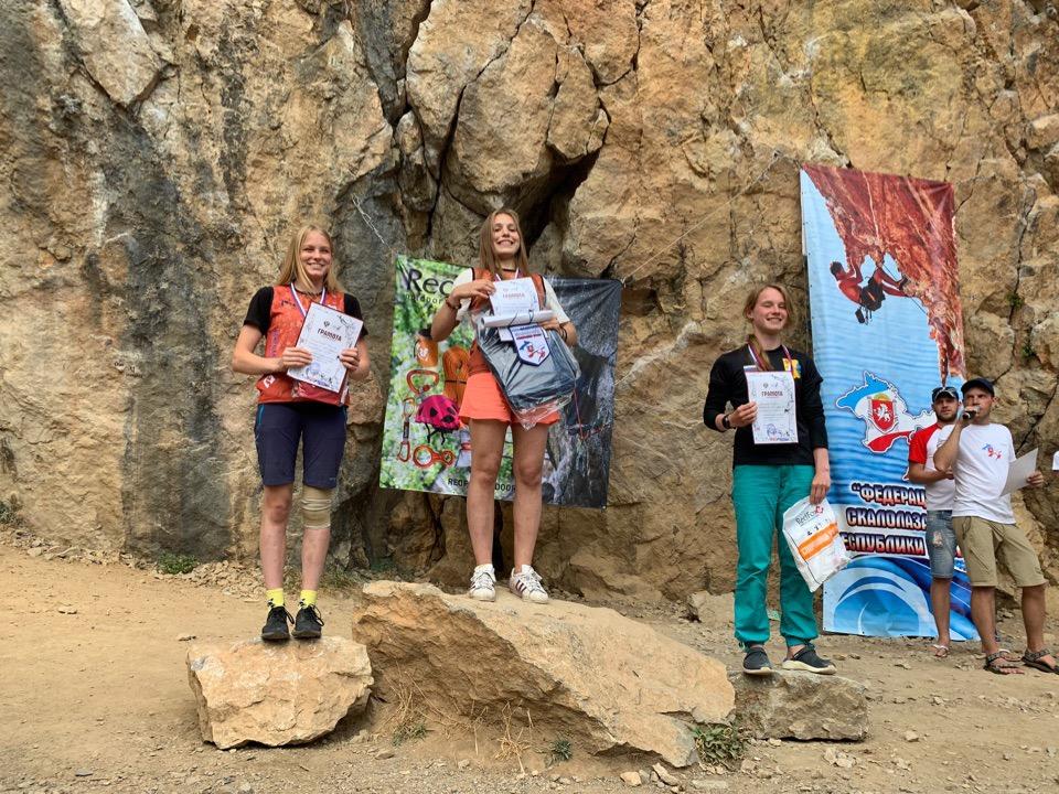 Кировские скалолазы привезли четыре медали из Крыма