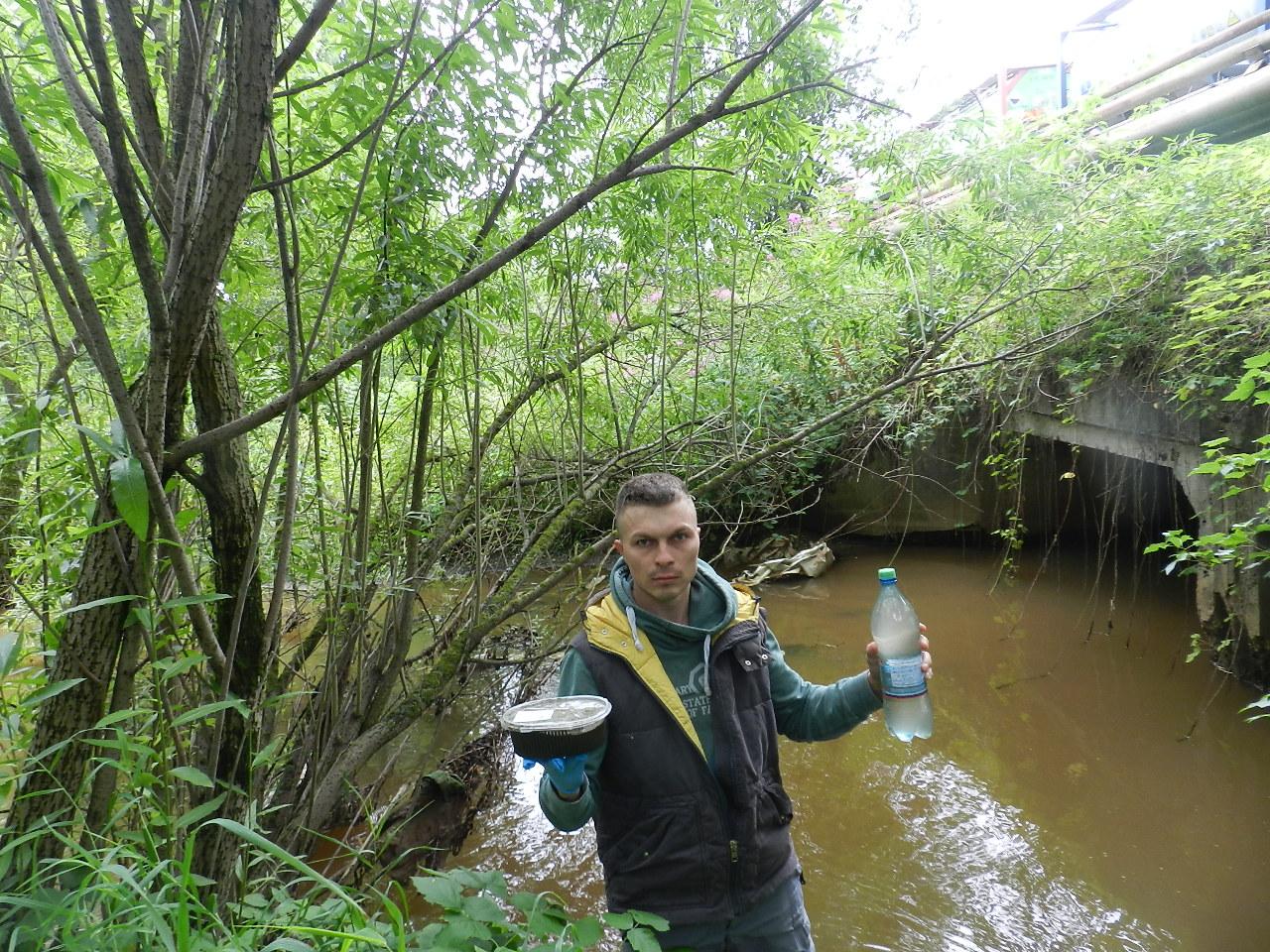 «Хранители Вятки» отобрали пробы воды в районе промышленного кластера Кирово-Чепецка