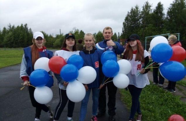 Лузские единороссы приняли участие в проекте «Беги за мной»