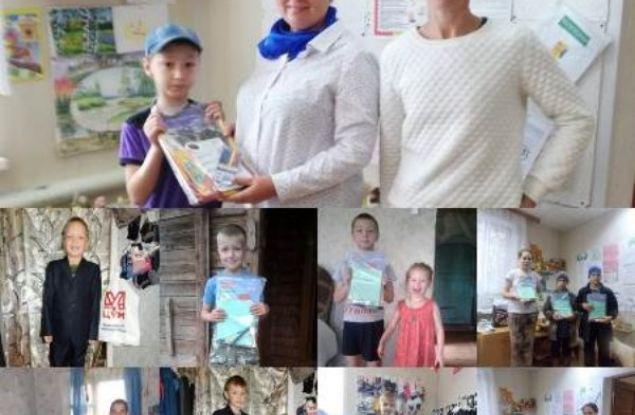 Акция «Собери ребенка в школу» состоялась в Даровском