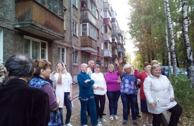 Кировчане принимают активное участие в благоустройстве своих дворов