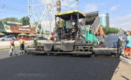 Из 19 участков ремонтируемых дорог уже принято 10