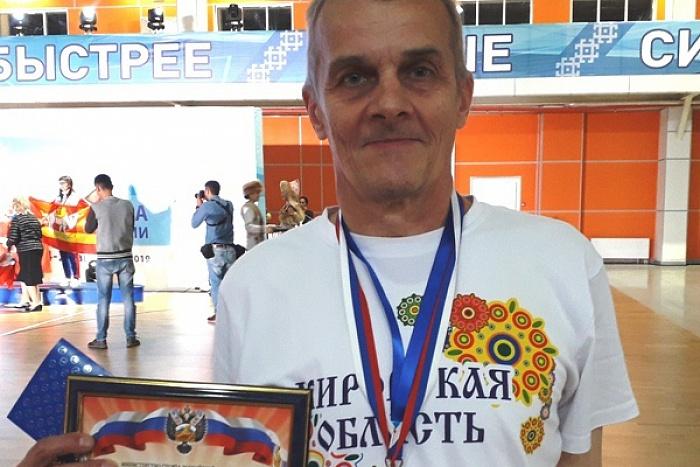 Кировчанин стал лидером Всероссийской спартакиады пенсионеров России
