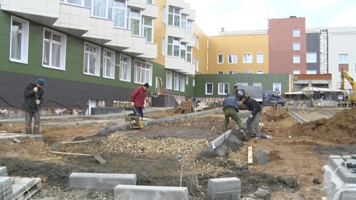 Достроить школу в Чистых прудах планируют к концу октября