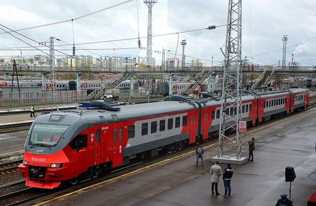 Новый электропоезд появился в Кирове