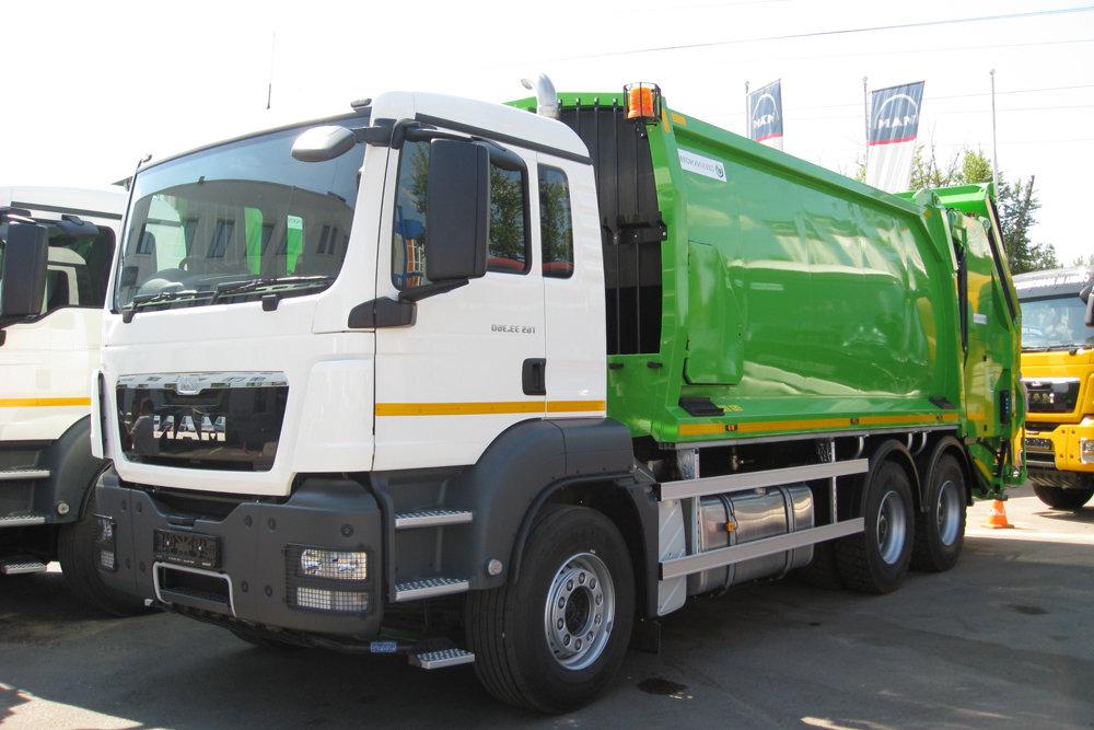 В Кирове мусоровозы планируют перевести на газ