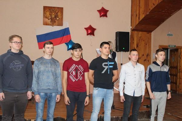 Малмыжские призывники обещали служить с честью