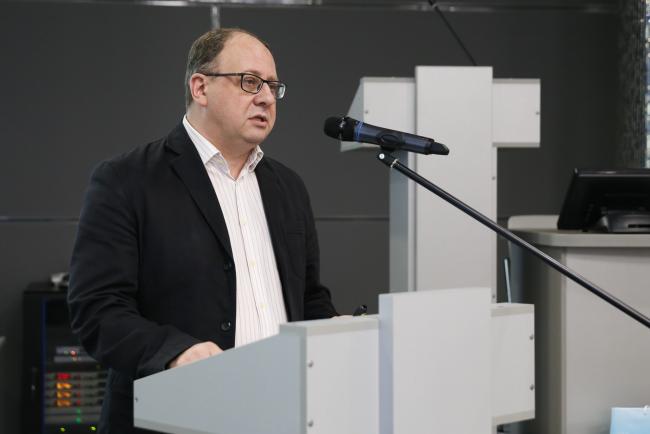 Ректор ВятГУ Валентин Пугач выступил на Гражданском форуме Кировской области