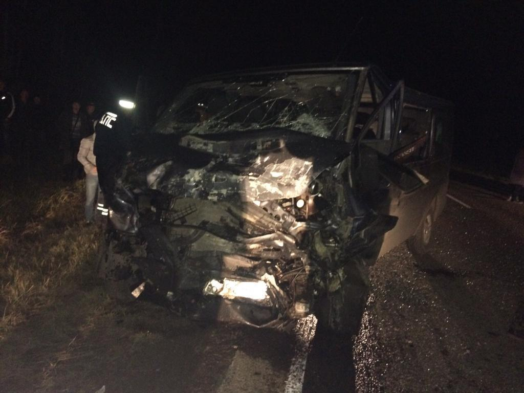 В страшной аварии под Нолинском погибли 4 человека