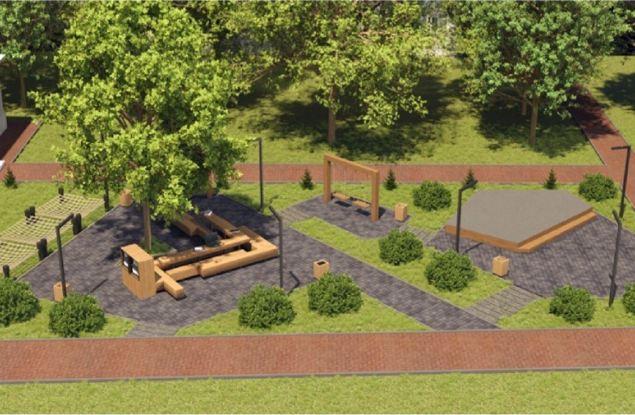 В Александровском саду обустроили новую зону отдыха