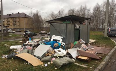 Контейнерные площадки в Кирове «подвинут» с муниципальной земли