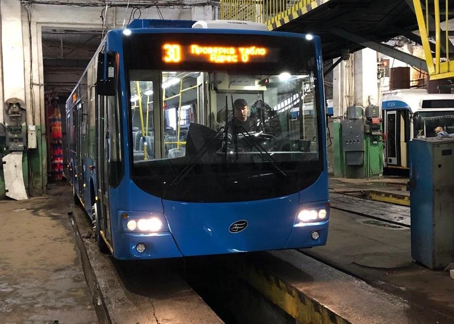 Новые троллейбусы отправят на маршрут №8